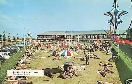 BUTLINS CLACTON postcards at Redcoats Reunited 5