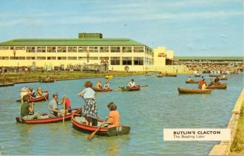 BUTLINS CLACTON postcards at Redcoats Reunited 8