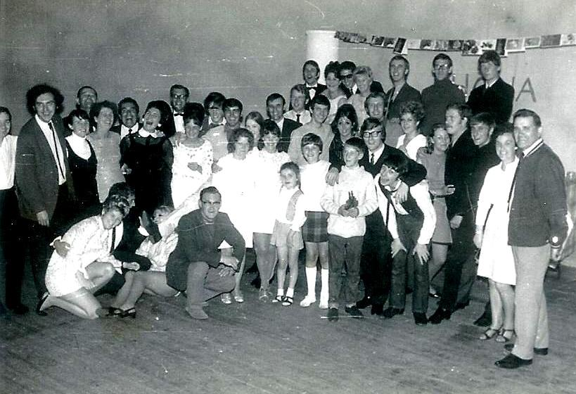 Butlins Ayr 1969 Redcoat party 1