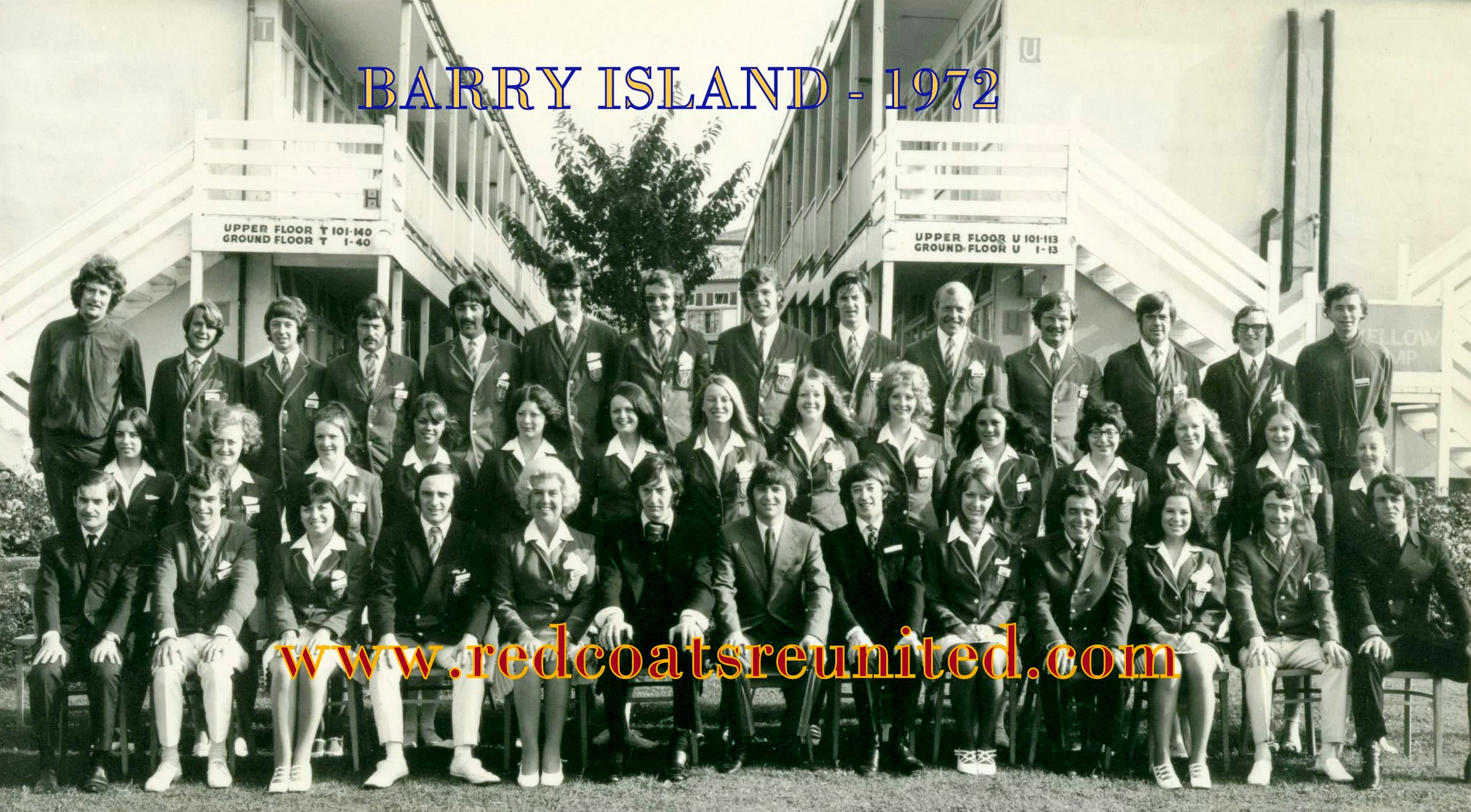 Butlins Barry 1972 at Redcoats Reunited