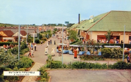 BUTLINS PWLLHELI MAIN ROAD - SOUTH CAMP