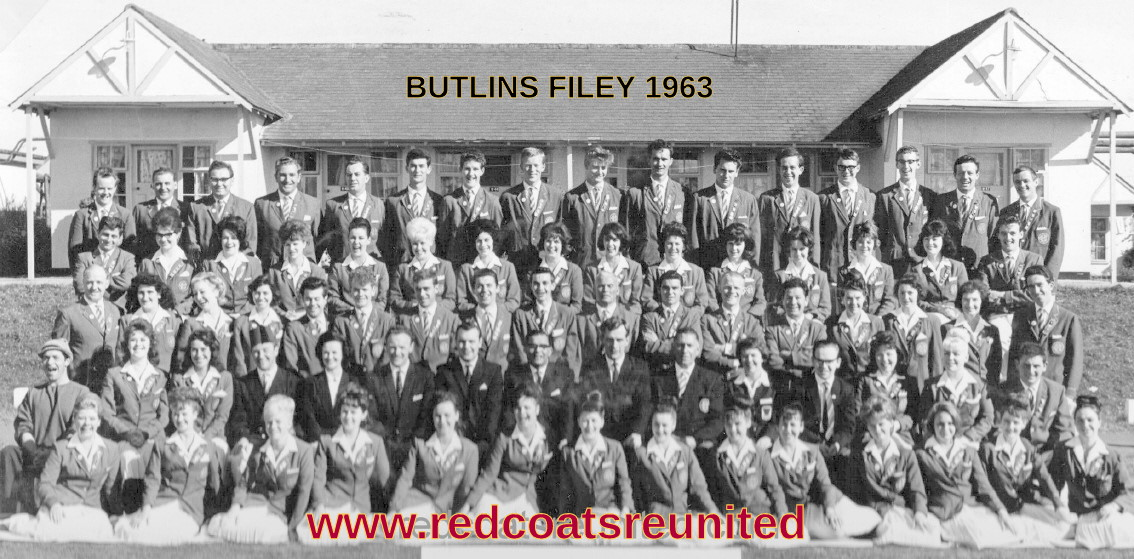 BUTLINS FILEY REDCOAT TEAM 1963