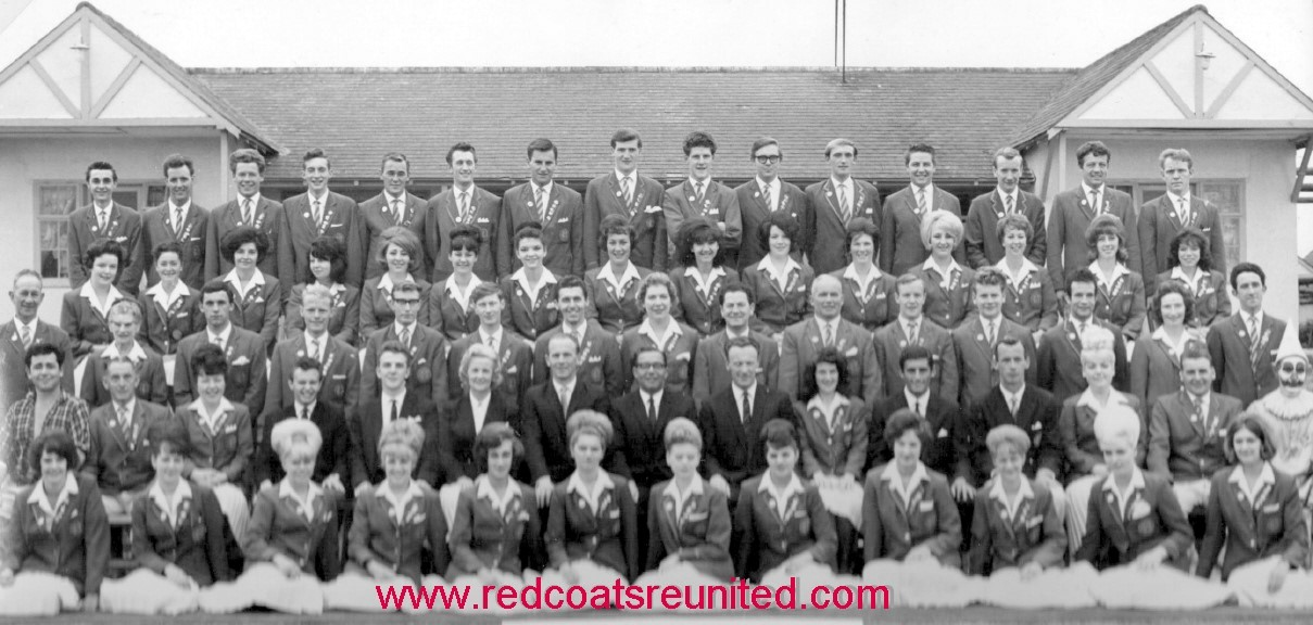 BUTLINS FILEY REDCOATS 1964 at Redcoats Reunited