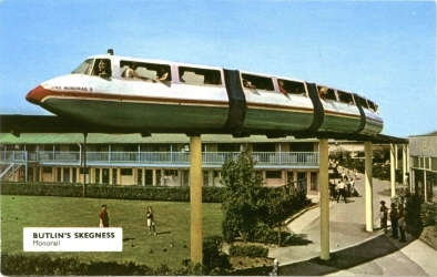BUTLINS SKEGNESS MONORAIL and POOL