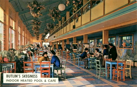 BUTLINS SKEGNESS INDOOR POOL and CAFE
