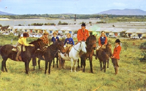 BUTLINS PWLLHELI HORSE RIDE