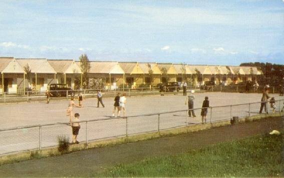 BUTLINS PWLLHELI SKATING RINK and CHALETS